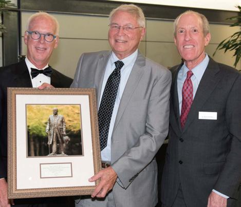Dr. Roger Stevenson Named Distinguished Alumnus