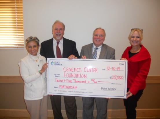 GGC Foundation Receives Gift from Duke Energy