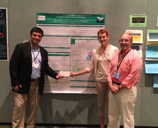 GGC Researchers Recognized with Best Poster at Phelan-McDermid Syndrome Foundation International Conference