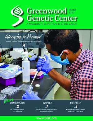 GGC Friends of the Center Newsletter - Winter 2020