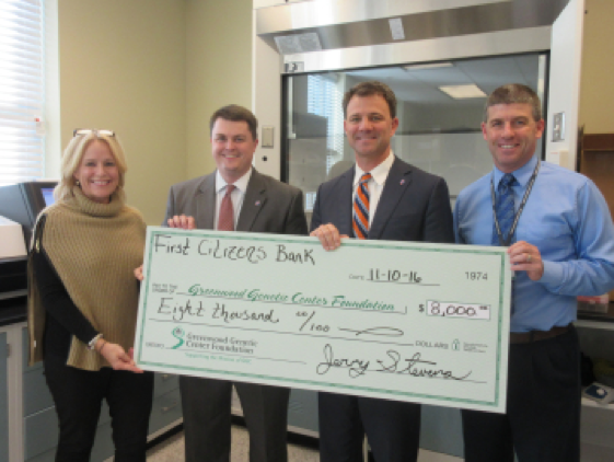 First Citizens Donates $40,000 to GGC Foundation