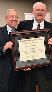 Rogers Recognized as MUSC Distinguished Alumnus