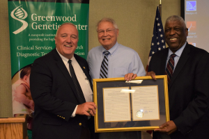 GGC Co-founder Honored with SC Senate Resolution